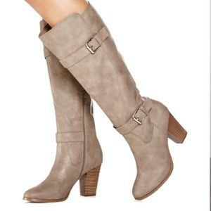 🖤JustFab Paisley Boots sz 9
